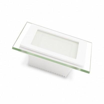 Точечный светильник Eurolamp LED-DLS-6/4(скло)