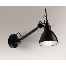 Светильник настенный Shilo Daisen 4481/E27/CZARNA