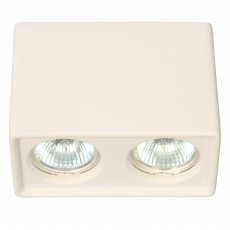 Точечный светильник Gypsum Line Bristol S1804-2 WH